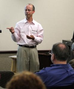 Alec at annual meeting 2